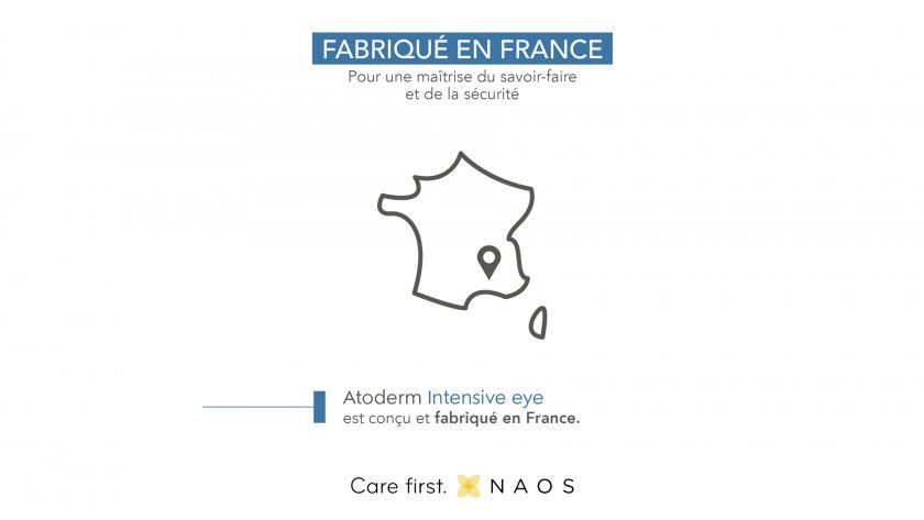 Atoderm Intensive eye made in france