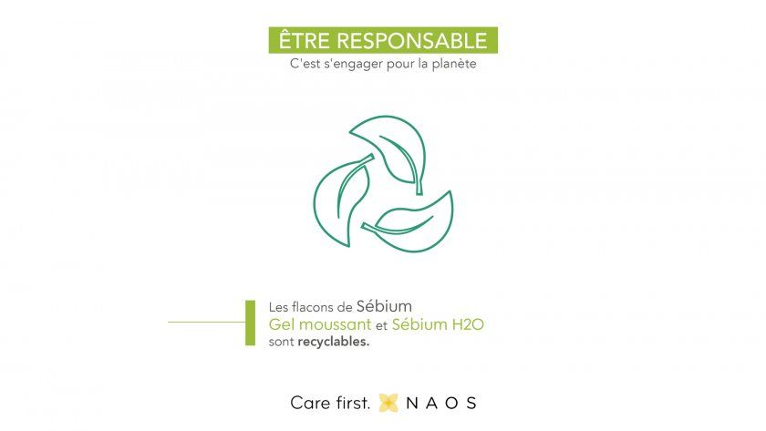 Bioderma flacons recycables