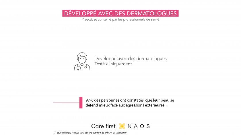 développé avec dermatologues